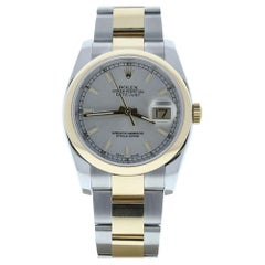Rolex Datejust 116203, Black Dial, Certified and Warranty