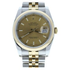 Rolex Datejust 116203, White Dial, Certified and Warranty