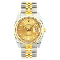 Rolex Datejust 116233, Champagne Dial, Certified and Warranty