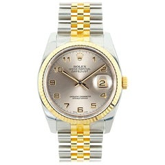 Rolex Datejust 116233, Black Dial, Certified and Warranty