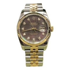 Rolex Datejust 116233, Blue Dial, Certified and Warranty