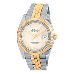 Rolex Datejust 116233, Ivory Dial, Certified and Warranty