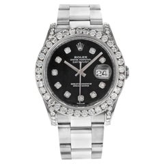 Mens Diamond Rolex Watches 327 For Sale On 1stdibs