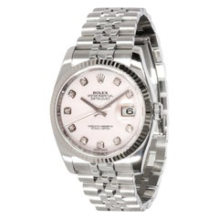 Rolex Datejust 116234 Men's Watch in 18 Karat Stainless Steel/White Gold