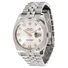 Rolex Datejust 116234 Men's Watch in 18kt Stainless Steel/White Gold