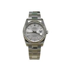 Rolex Datejust 116234 Silver Dial Stainless Steel Box and Papers, 2019