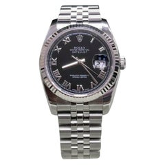 Rolex Datejust 116234, White Dial, Certified and Warranty