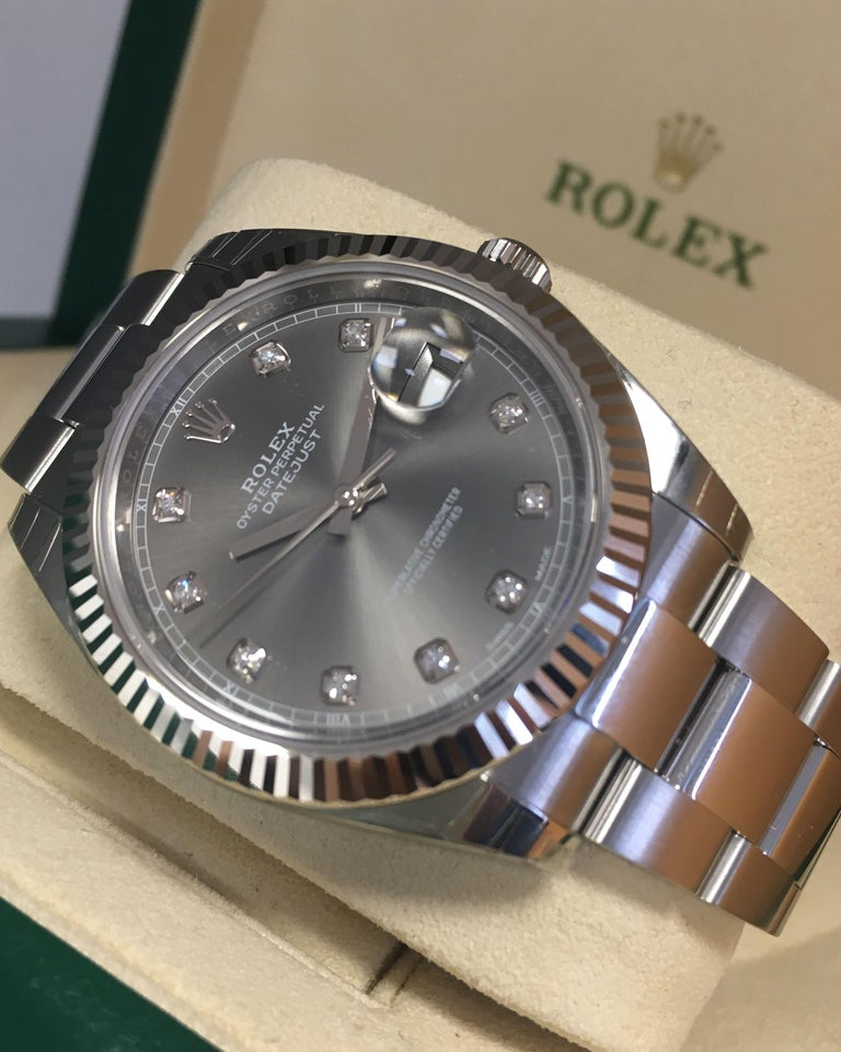 Rolex Datejust 116334 Men's Automatic Watch Rhodium Dial with Box and Papers 1