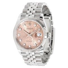 Rolex Datejust 126234 Men's Watch in 18 Karat Stainless Steel/White Gold