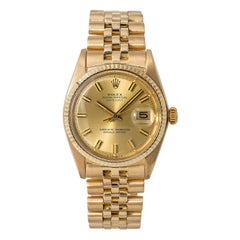 Rolex Datejust 1600, Certified and Warranty