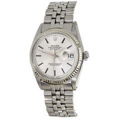 Rolex Datejust 1601 Automatic Stainless Steel Watch Service Guarantee Card