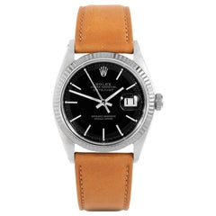 Rolex Datejust 1601, Black Dial, Certified and Warranty