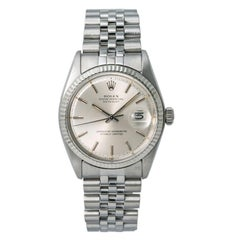 Rolex Datejust 1601, Blue Dial, Certified and Warranty