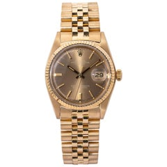Rolex Datejust 1601, Champagne Dial, Certified and Warranty