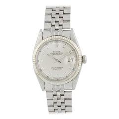 Rolex Datejust 1601 Diamond Dial Men's Watch
