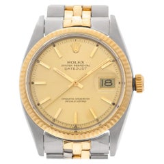 Rolex Datejust 1601, Gold Dial, Certified and Warranty