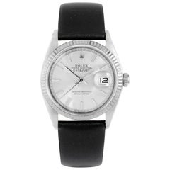 Rolex Datejust 1601, Grey Dial, Certified and Warranty