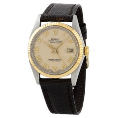 Rolex Datejust 16013, Blue Dial, Certified and Warranty