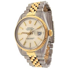 Rolex Datejust 16013, Millimeters Pink Dial, Certified and Warranty