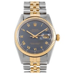 Rolex Datejust 16013, White Dial, Certified and Warranty