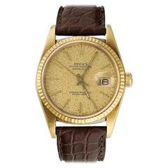 Rolex Datejust 16018 Jubilee Dial Men's Watch