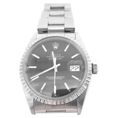Rolex Datejust 1603, Black Dial, Certified and Warranty