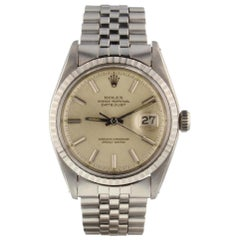 Rolex Datejust 1603, Silver Dial, Certified and Warranty