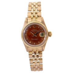 Rolex Datejust 16078, Brown Dial, Certified and Warranty