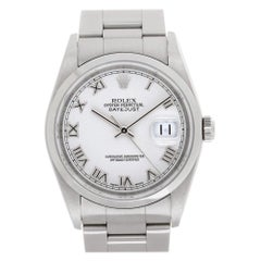 Rolex Datejust 16200, Certified and Warranty