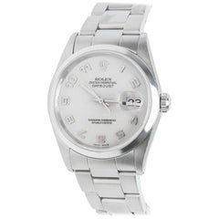 Rolex Datejust 16200, Ivory Dial, Certified and Warranty