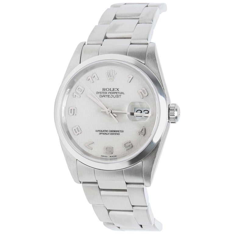 Rolex Datejust 16200 Men's Watch in Stainless Steel