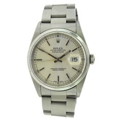 Rolex Datejust 16200 Silver Dial Stainless Steel Automatic Watch