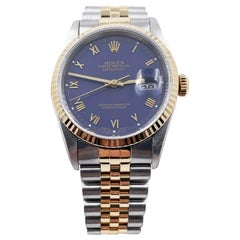 Rolex Datejust 16233 18 Karat Yellow Gold Stainless Steel with Box