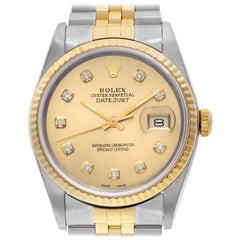 Rolex Datejust 16233, Certified and Warranty
