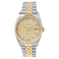 Rolex Datejust 16233, Champagne Dial, Certified and Warranty