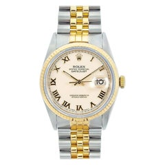 Rolex Datejust 16233, Ivory Dial, Certified and Warranty