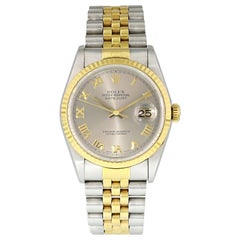 Rolex Datejust 16233 Men's Watch Box and Papers