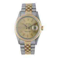 Rolex Datejust 16233 Men's Watch Box Papers