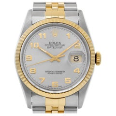 Rolex Datejust 16233, Slate Dial, Certified and Warranty
