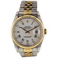 Rolex Datejust 16233, White Dial, Certified and Warranty