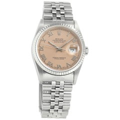 Rolex Datejust 16234, Color Dial, Certified and Warranty