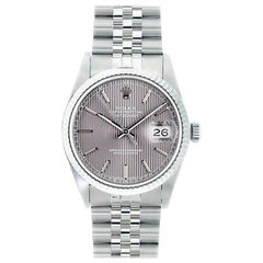 Rolex Datejust 16234, Grey Dial, Certified and Warranty