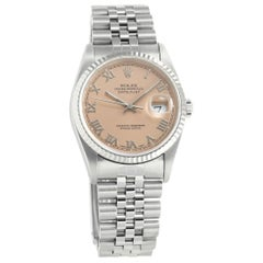 Rolex Datejust 16234, 39 Black Dial, Certified and Warranty