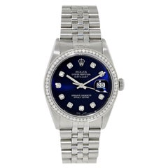 Rolex Datejust 16234 Diamond Men's Watch