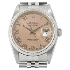 Rolex Datejust 16234, Salmon Dial, Certified and Warranty