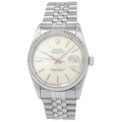 Rolex Datejust 16234, Silver Dial, Certified and Warranty