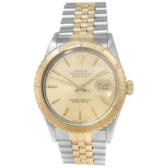 Rolex Datejust 16253, Champagne Dial, Certified and Warranty