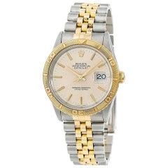 Rolex Datejust 16263, Beige Dial, Certified and Warranty