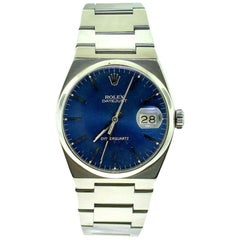Rolex Datejust 17000B Oyster Metallic Blue/Purple Steel Watch, 1980s
