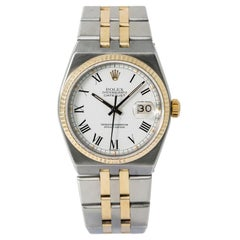 Rolex Datejust 17013, White Dial, Certified and Warranty